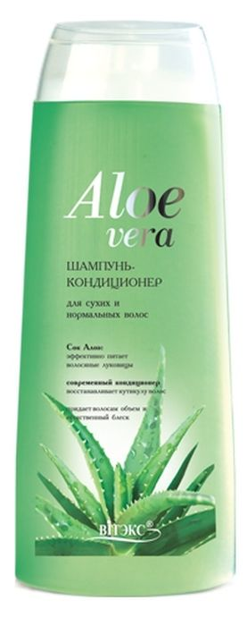 Витэкс Aloe Vera Шампунь-Кондиционер для сухих волос, 500 мл сок алоэ вера aloe vera juice goodcare 500 мл
