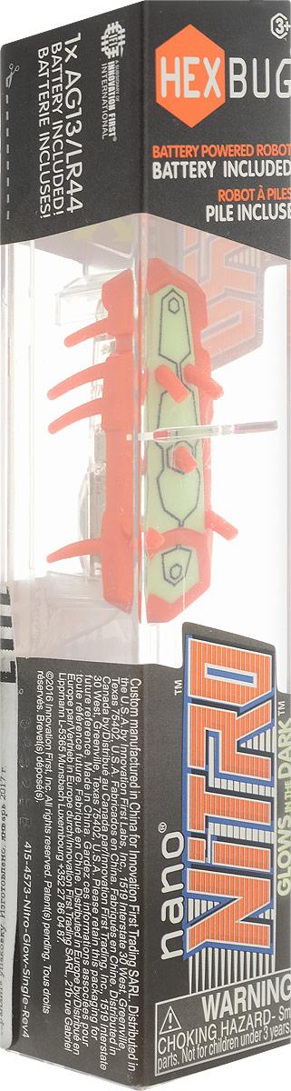 Hexbug Микро-робот Nano Nitro цвет оранжевый зеленый