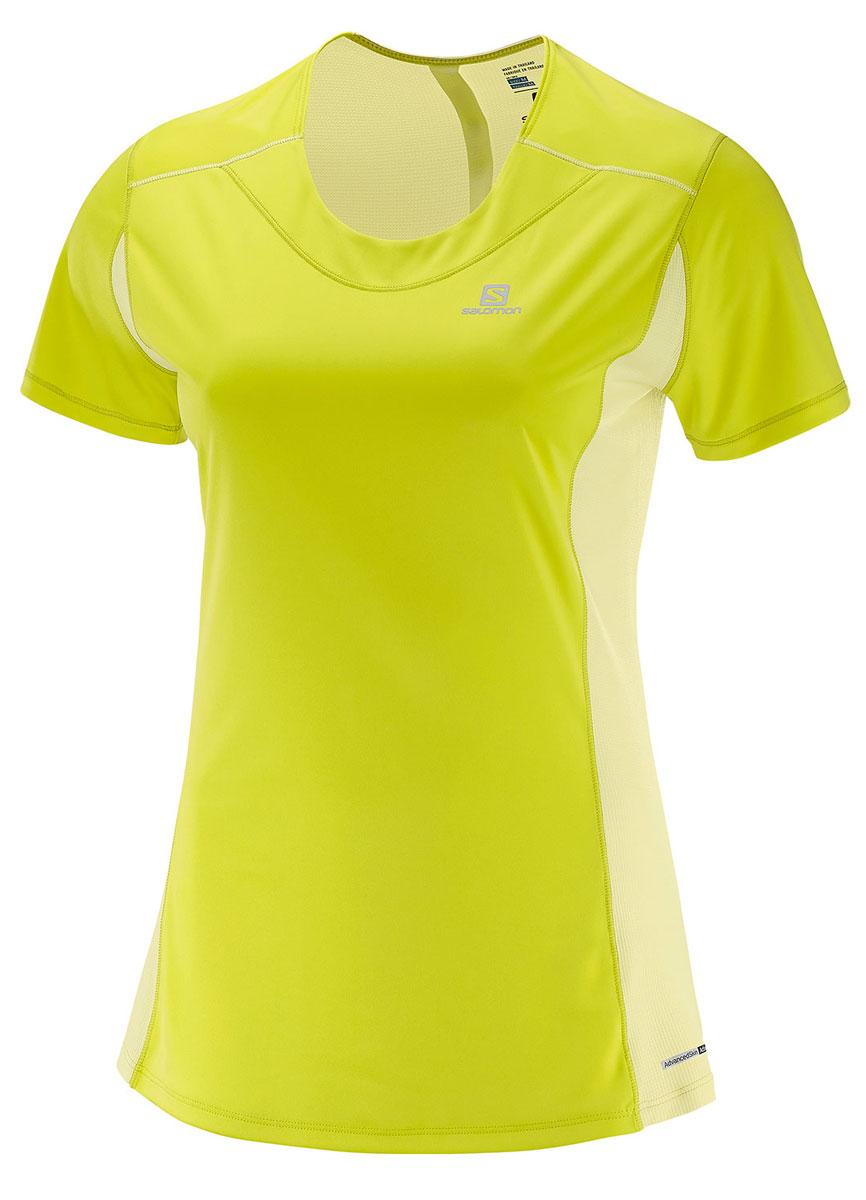Легкая функциональная футболка Salomon выполнена из качественного материала. Модель с сетчатым карманом для спортивного геля и светоотражающими на 360° элементами для бега в любое время суток.