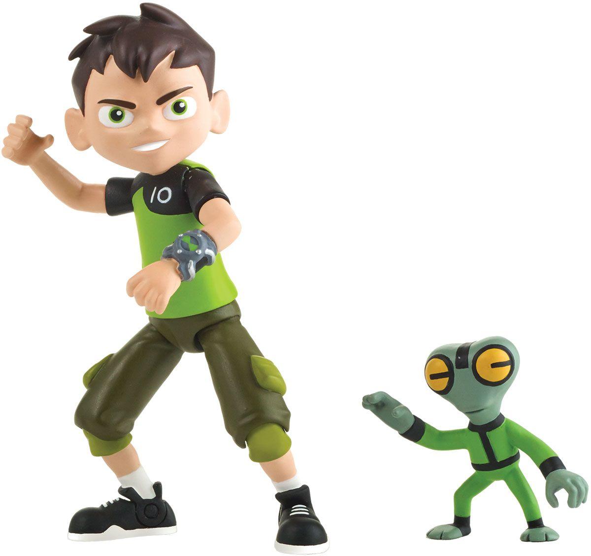 Ben 10 Набор фигурок Бен и гуманоид игрушки интерактивные ben 10 ben 10 часы омнитрикс