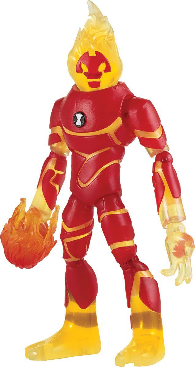 Ben 10 Фигурка Человек-огонь 76102 игрушки интерактивные ben 10 ben 10 часы омнитрикс
