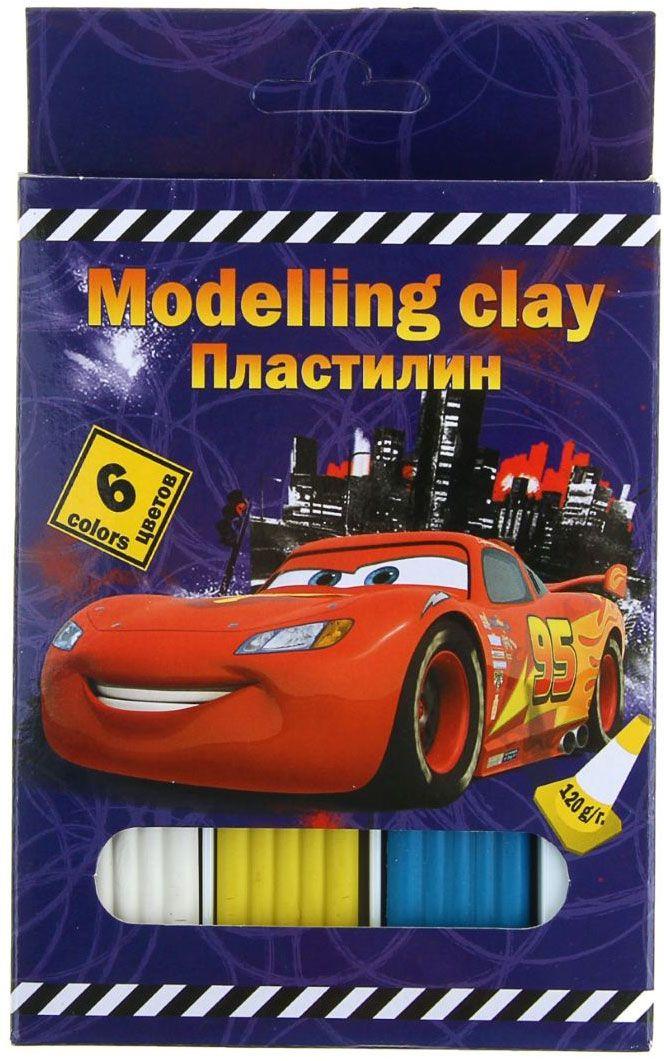 Disney Пластилин Cars 6 цветов1117443Набор цветного пластилина Disney Cars предназначен для лепки и развития творческих способностей ребенка. В набор входят 6 брусочков разных цветов. Цветовая палитра классического пластилина содержит яркие насыщенные цвета, которые хорошо смешиваются между собой. Пластилин сохраняет свою форму, не застывает на воздухе. Производится на основе безопасных компонентов. В комплект входит пластиковый стек.