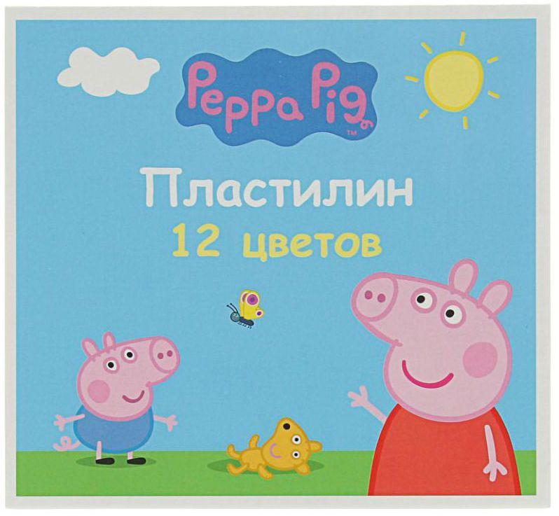 Peppa Pig Пластилин Умница 12 цветов2311048Яркий и легко размягчающийся пластилин поможет вашему малышу создать множество интересных поделок, а любимые герои мультфильма вдохновят его на новые творческие идеи. Лепить из этого пластилина легко и приятно: он обладает отличными пластичными свойствами, не липнет к рукам, не имеет запаха, его цвета легко смешиваются друг с другом. Создавайте новые цвета и оттенки, фантазируйте, экспериментируйте - это увлекательно и полезно: лепка активно тренирует у ребенка мелкую моторику и умение работать пальчиками, развивает тактильное восприятие формы, веса и фактуры, совершенствует воображение и пространственное мышление. В комплекте 12 цветов. Состав: парафин, петролатум, мел, каолин, красители.