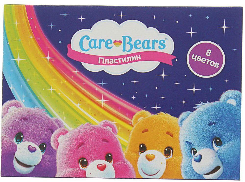 Care Bears Пластилин 8 цветов2373447Яркий и легко размягчающийся пластилин поможет вашему малышу создать множество интересных поделок, а любимые герои мультфильма вдохновят его на новые творческие идеи. Лепить из этого пластилина легко и приятно: он обладает отличными пластичными свойствами, не липнет к рукам, не имеет запаха, его цвета легко смешиваются друг с другом. Создавайте новые цвета и оттенки, фантазируйте, экспериментируйте - это увлекательно и полезно: лепка активно тренирует у ребенка мелкую моторику и умение работать пальчиками, развивает тактильное восприятие формы, веса и фактуры, совершенствует воображение и пространственное мышление. В комплекте 8 цветов. Состав: парафин, петролатум, мел, каолин, красители.