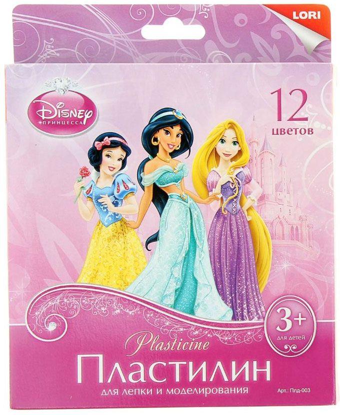 Disney Пластилин Принцессы 12 цветов867563Набор цветного пластилина Disney Принцессы предназначен для лепки и развития творческих способностей ребенка. В набор входят 12 брусочков пластилина разных цветов. Цветовая палитра содержит яркие насыщенные цвета, которые хорошо смешиваются между собой. Пластилин сохраняет свою форму, не застывает на воздухе. Производится на основе безопасных компонентов. В комплект входит пластиковый стек.