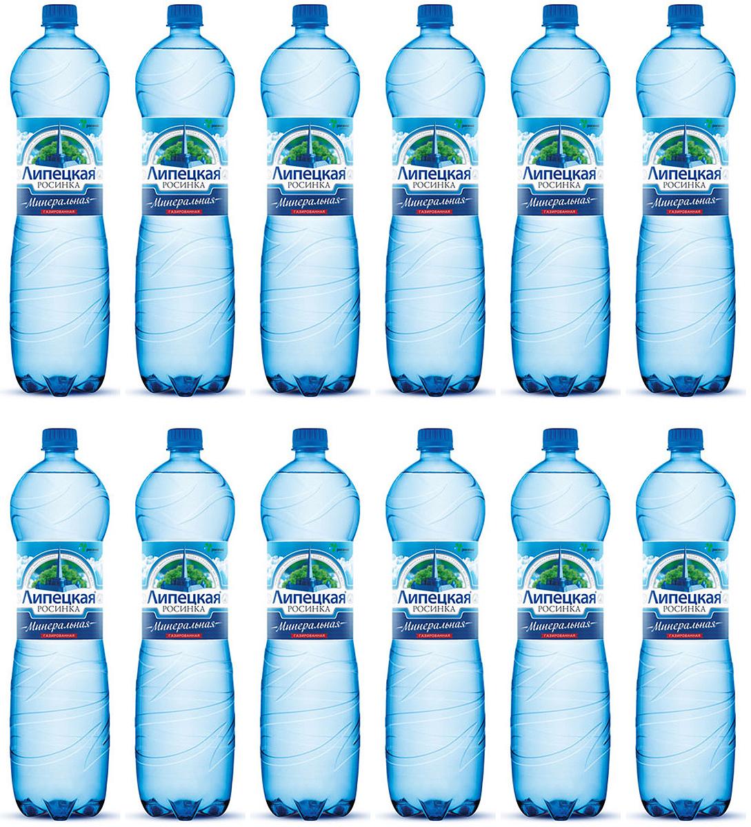 Липецкая Росинка вода газированная, 12 шт по 0,5 л дом в деревне недорого липецкая область