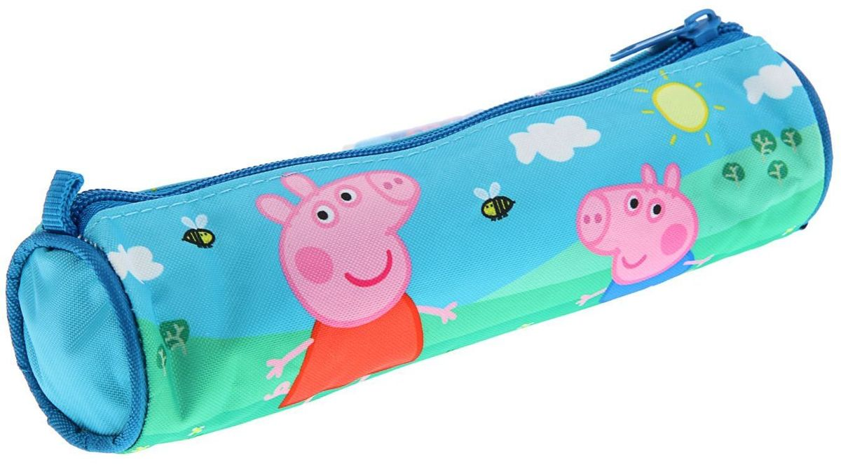 Peppa Pig Пенал Свинка ПеппаZT-NN-4Яркий и весёлый пенал поможет вашему непоседе сохранять порядок у себя врюкзаке и на письменном столе. С таким аксессуаром ваш юный школьникстанет главным модником в классе!