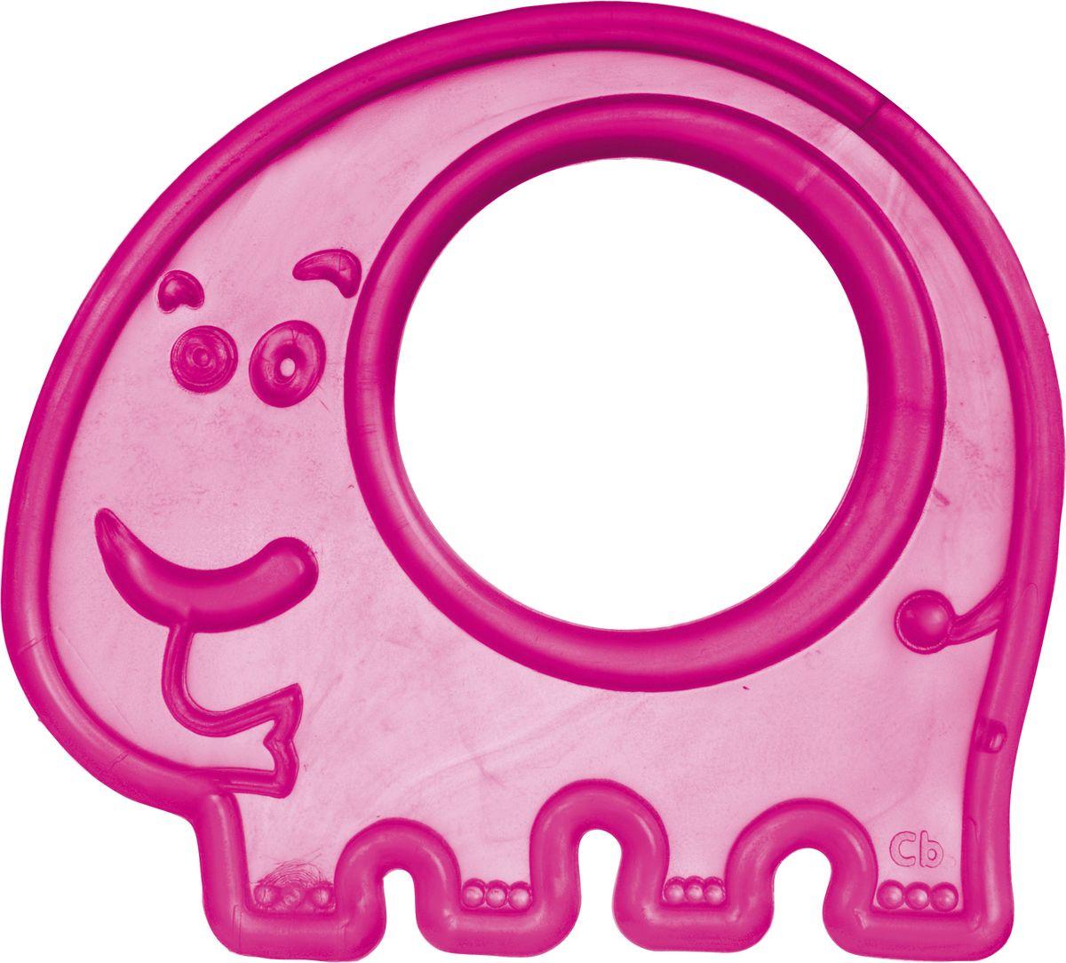 Canpol Babies Прорезыватель Слоник цвет розовый canpol babies мисочка с ложкой и крышкой canpol babies розовый