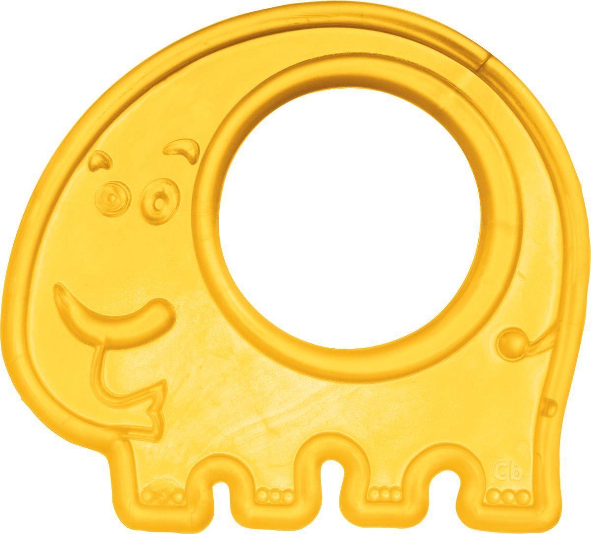 Canpol Babies Прорезыватель Слоник цвет желтый canpol babies прорезыватель охлаждающий ягодка цвет красный