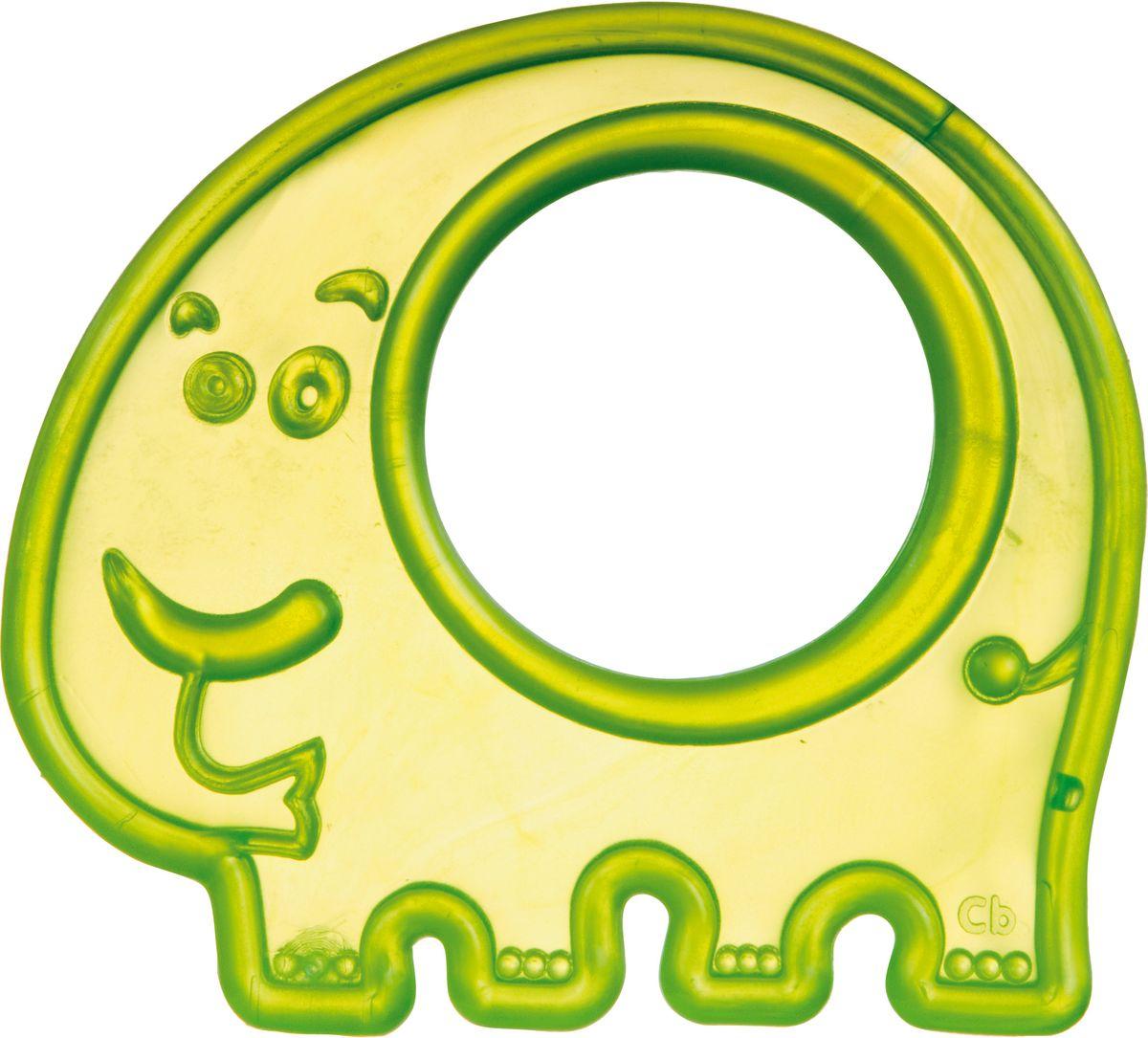 Canpol Babies Прорезыватель Слоник цвет зеленый canpol babies прорезыватель охлаждающий ягодка цвет красный