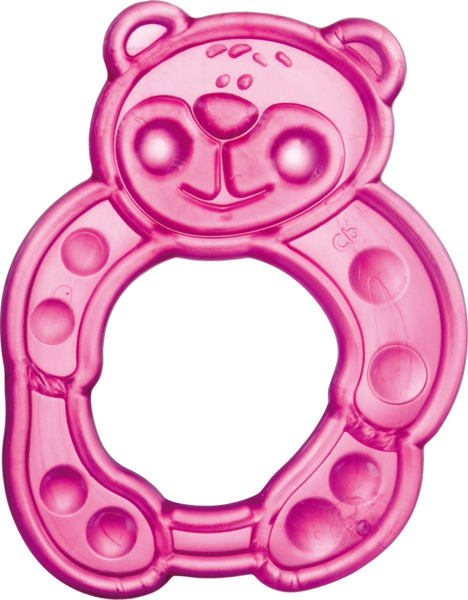Canpol Babies Прорезыватель Мишка цвет розовый canpol babies мисочка с ложкой и крышкой canpol babies розовый