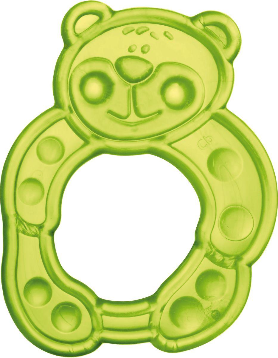 Canpol Babies Прорезыватель Мишка цвет зеленый canpol babies прорезыватель водный охлаждающий мишка цвет желтый
