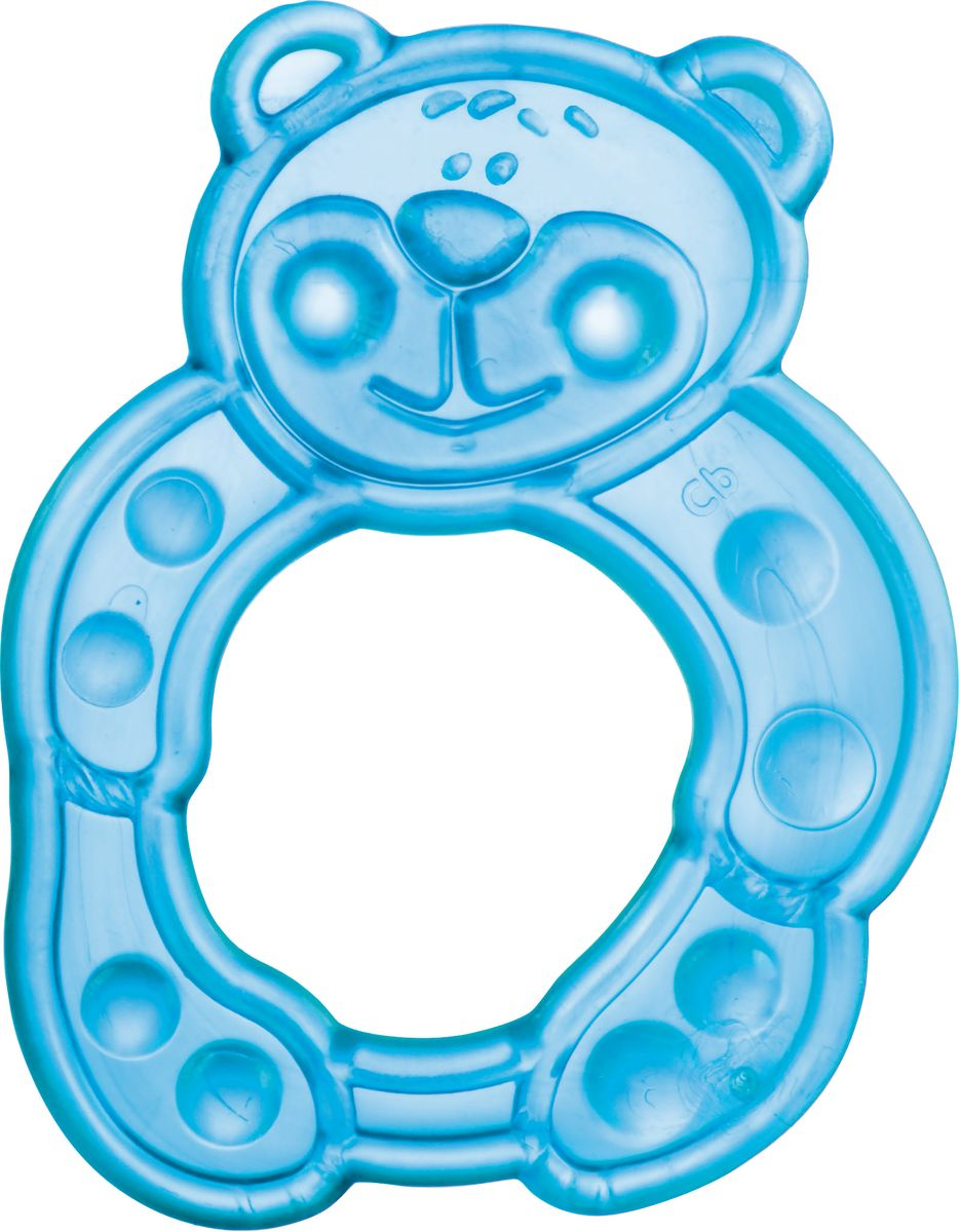 Canpol Babies Прорезыватель Мишка цвет голубой