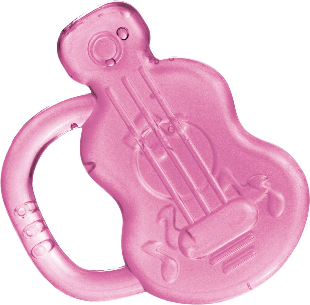 Canpol Babies Прорезыватель охлаждающий Гитара цвет розовый