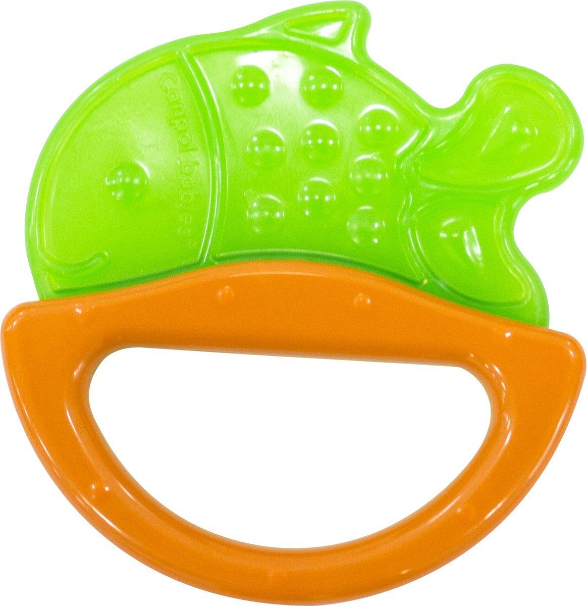Canpol Babies Погремушка Рыбка с прорезывателем цвет зеленый canpol babies прорезыватель охлаждающий ягодка цвет красный