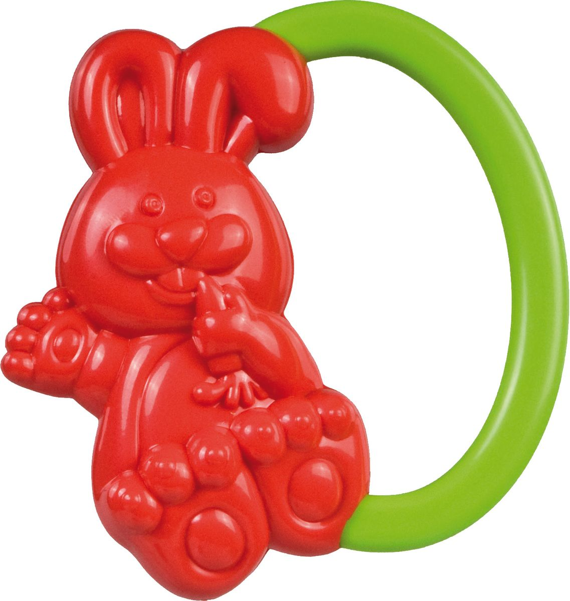 Canpol Babies Погремушка Кролик цвет красный canpol babies погремушка улитка 0 canpol babies зеленый