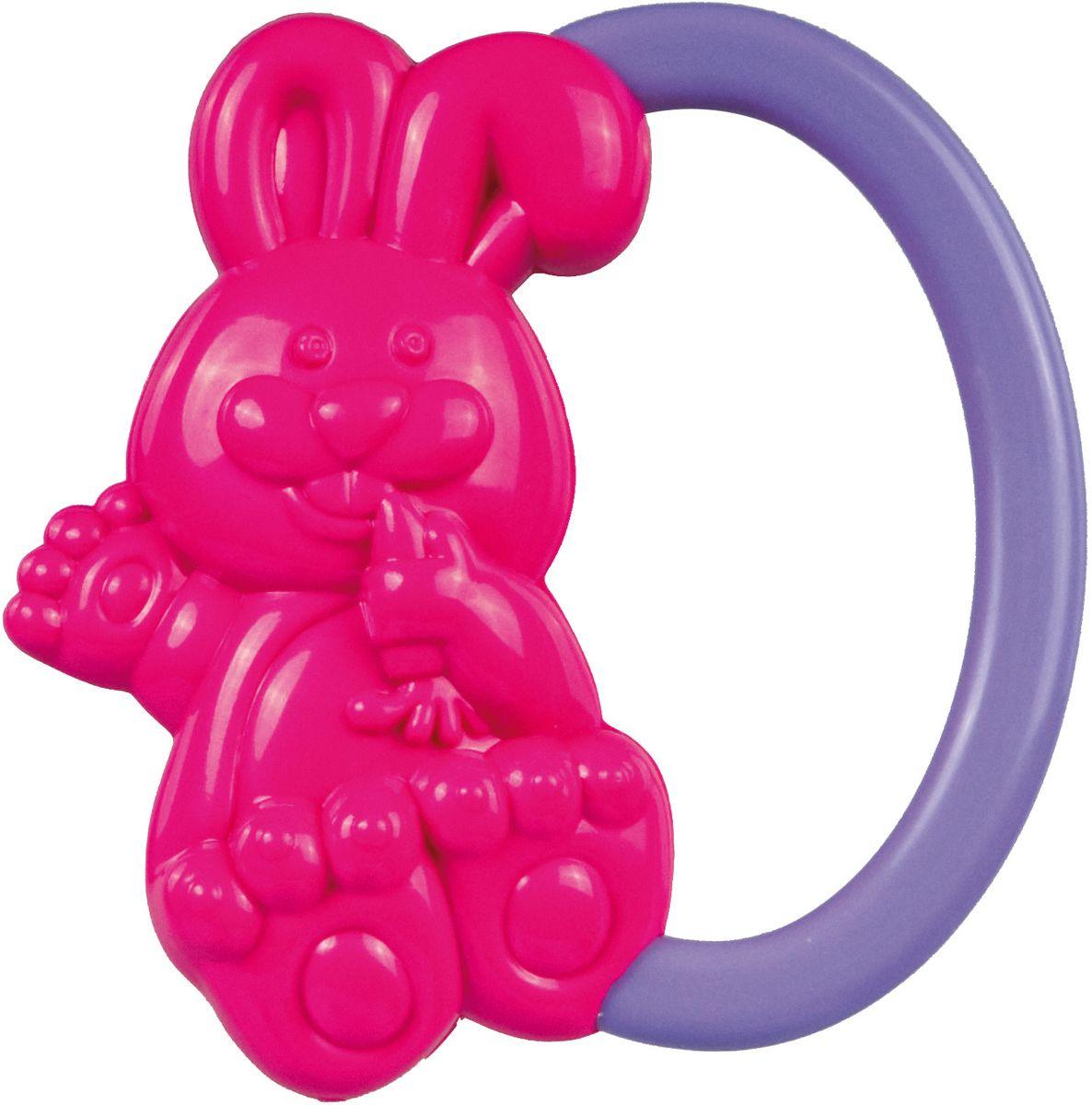 Canpol Babies Погремушка Кролик цвет розовый стеллар погремушка дудочка стеллар