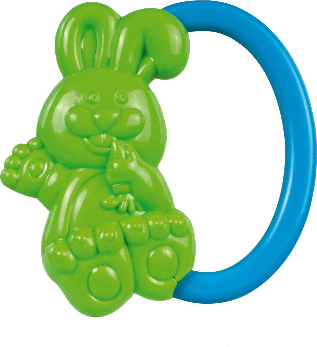 Canpol Babies Погремушка Кролик цвет зеленый canpol babies погремушка улитка 0 canpol babies зеленый
