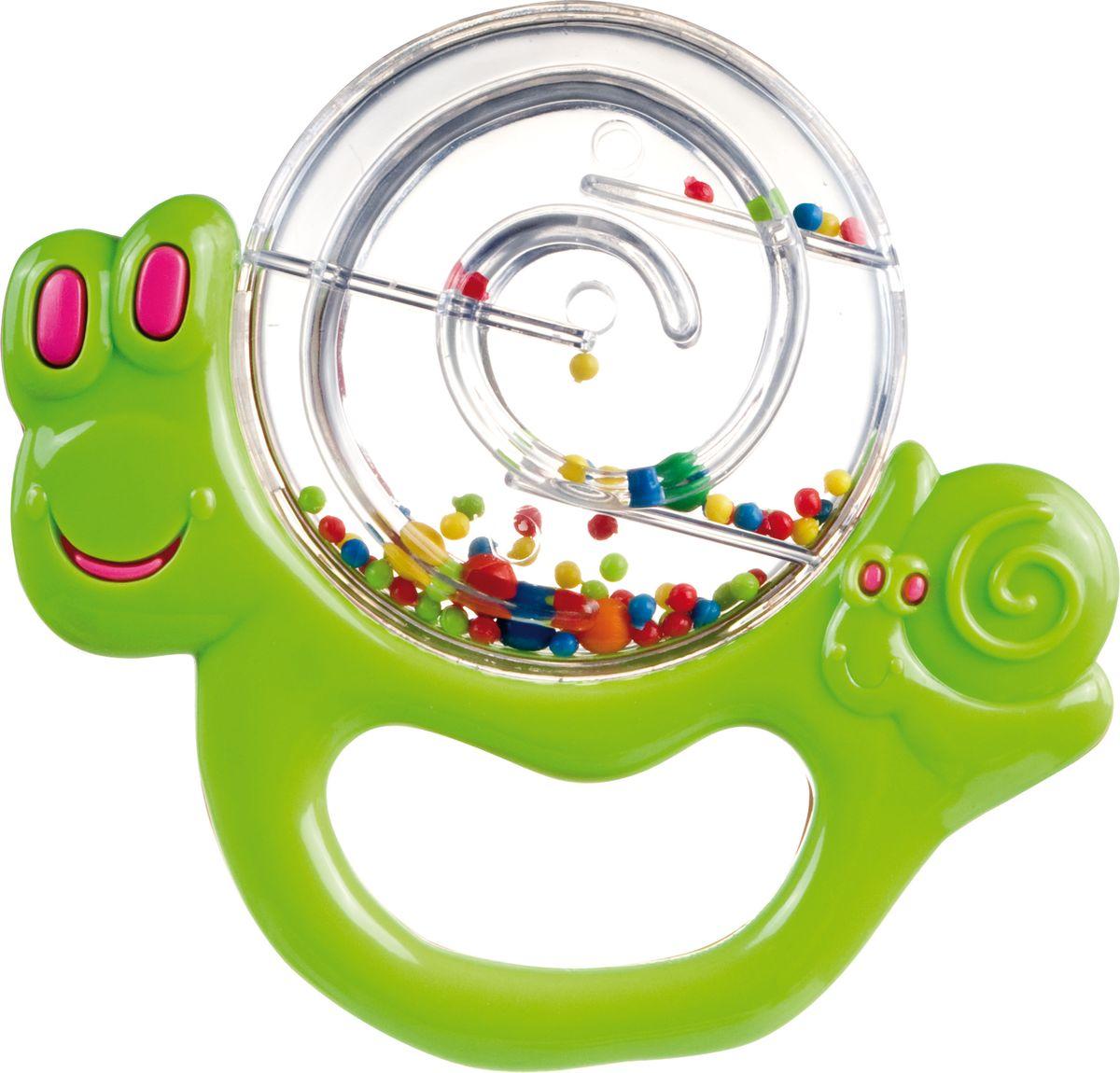 Canpol Babies Погремушка Улитка цвет зеленый стеллар погремушка дудочка стеллар