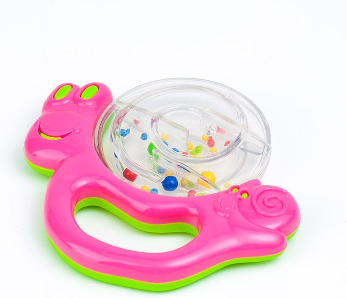Canpol Babies Погремушка Улитка цвет розовый canpol babies мисочка с ложкой и крышкой canpol babies розовый