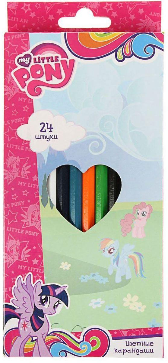 My Little Pony Набор карандашей 24 цвета1456714Изделия данной категории необходимы любому человеку независимо от рода его деятельности. У нас представлен широкий ассортимент товаров для учеников, студентов, офисных сотрудников и руководителей, а также товары для творчества.