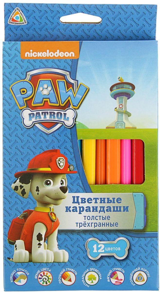 Paw Patrol Набор толстых карандашей 12 цветов2311024Изделия данной категории необходимы любому человеку независимо от рода его деятельности. У нас представлен широкий ассортимент товаров для учеников, студентов, офисных сотрудников и руководителей, а также товары для творчества.