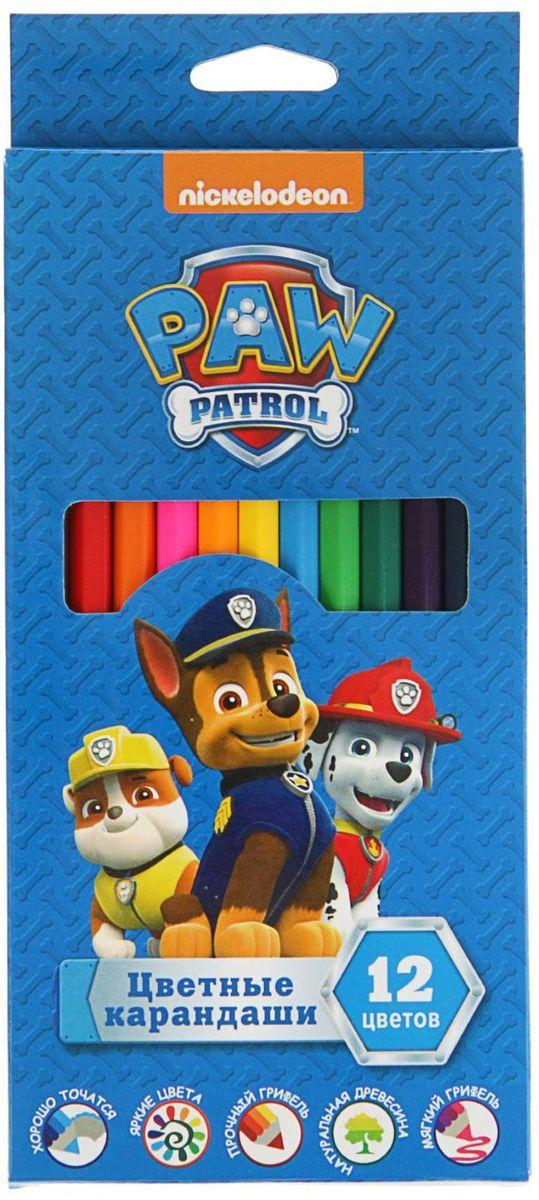 Paw Patrol Набор карандашей 12 цветов2348306Изделия данной категории необходимы любому человеку независимо от рода его деятельности. У нас представлен широкий ассортимент товаров для учеников, студентов, офисных сотрудников и руководителей, а также товары для творчества.