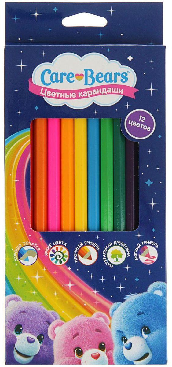 Росмэн Набор карандашей Care Bears 12 цветов602005Набор Росмэн Care Bears состоит из 12 деревянных цветных карандашей, которые откроют юным художникам новые горизонты для творчества. цветные карандаши помогут отлично развить мелкую моторику рук, фантазию и воображение.