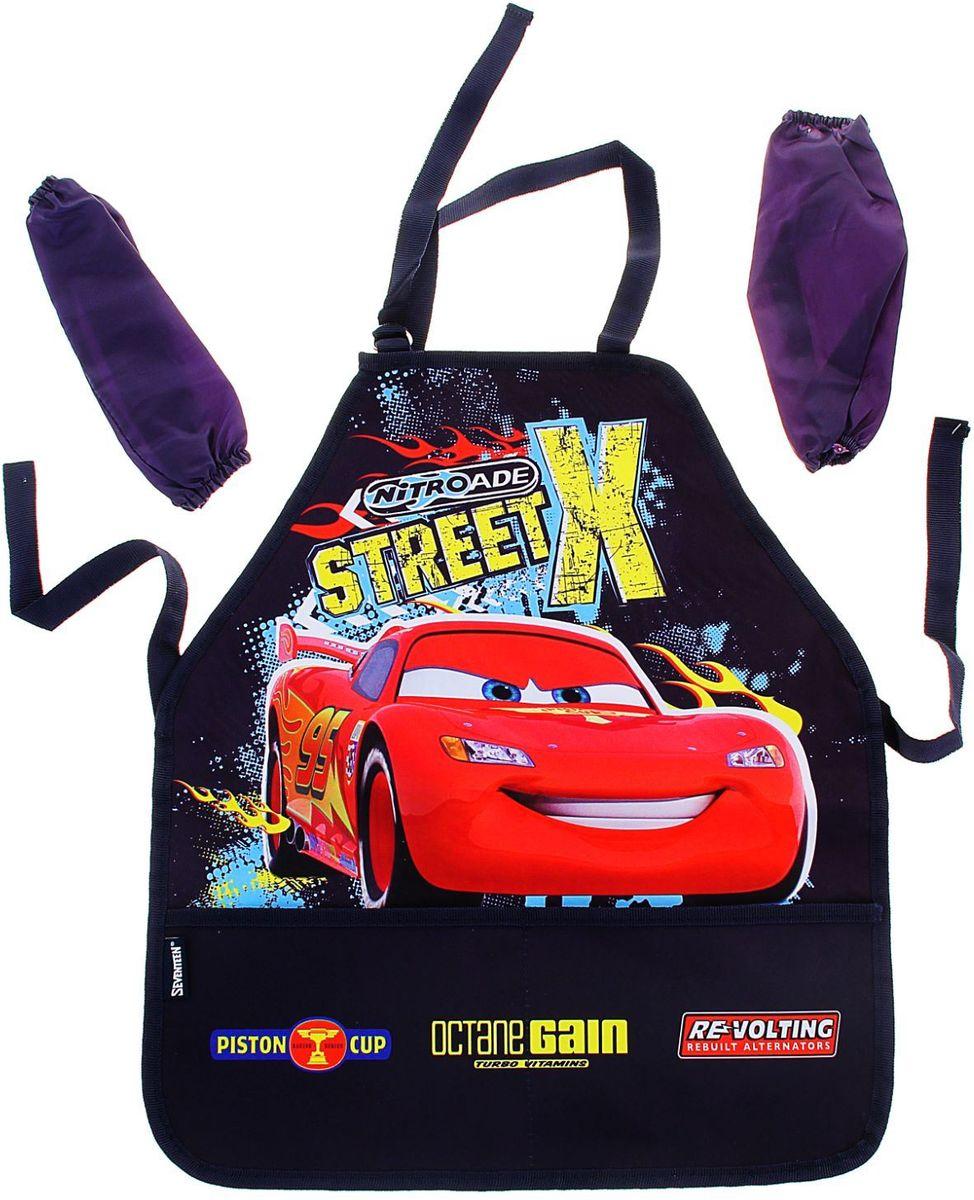 Disney Фартук детский для труда с нарукавниками Cars -  Аксессуары для труда