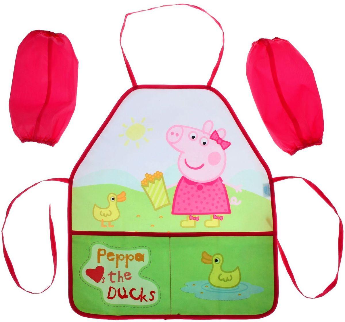 Peppa PigФартук детский для труда с нарукавниками Утка -  Аксессуары для труда