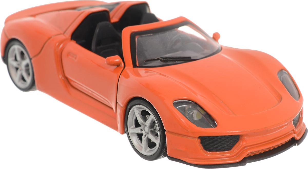 Фото ТехноПарк Машинка инерционная Lamborghini Gallardo LP 560-4 цвет оранжевый