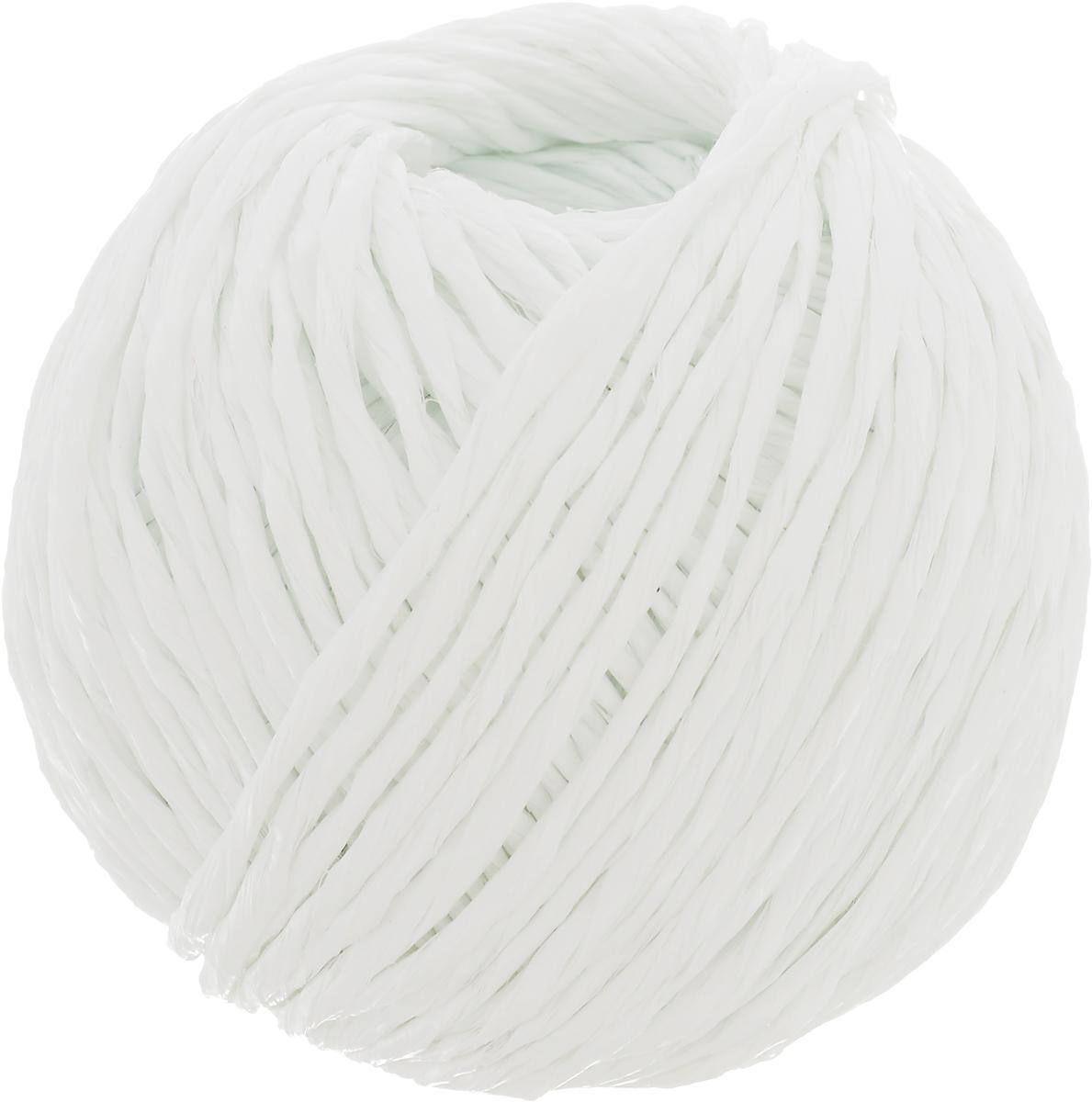 Шпагат Шнурком, цвет: белый, длина 60 мШпп_60_белыйПолипропиленовый шпагат Шнурком плотностью 1000 текс входит в категорию веревочной продукции, сырьем для которой являются синтетические волокна, в частности полипропиленовая нить. Данный материал характеризуется высокой прочностью и стойкостью к износу. Кроме того, он эластичен, гибок, не боится многократных изгибов, плотно облегает изделие при обвязке и легко завязывается в крепкие узлы.Относительная удельная плотность полипропиленовых шпагатов варьируется от 0,70 до 0,91 кг/м3.Температура плавления от 150 до 170°C (в зависимости от вида и модели шпагата).Удлинение под предельной нагрузкой (18-20%). Длина шпагата: 60 м.Толщина нити: 2 мм.Линейная плотность шпагата: 1000 текс.