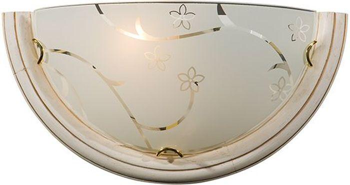 Cветильник настенный Sonex Blanketa Gold, 1 х E27, 100W. 002002