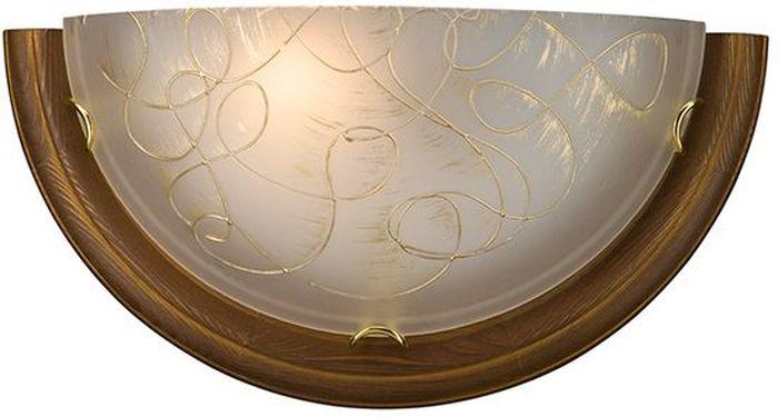 Cветильник настенный Sonex Provence Brown, 1 х E27, 100W. 003003