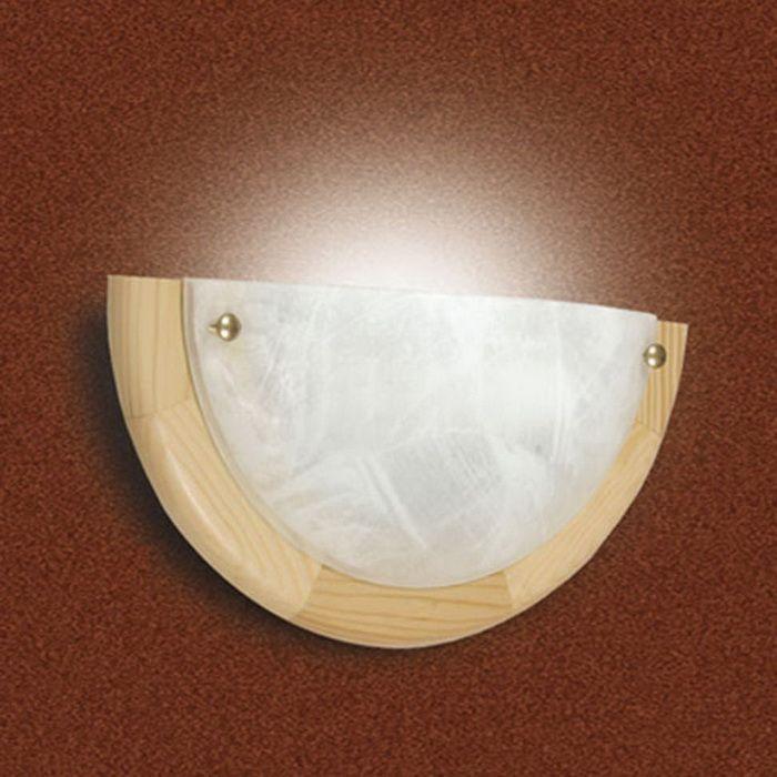 Cветильник настенный Sonex Alabastro, 1 х E27, 100W. 072072