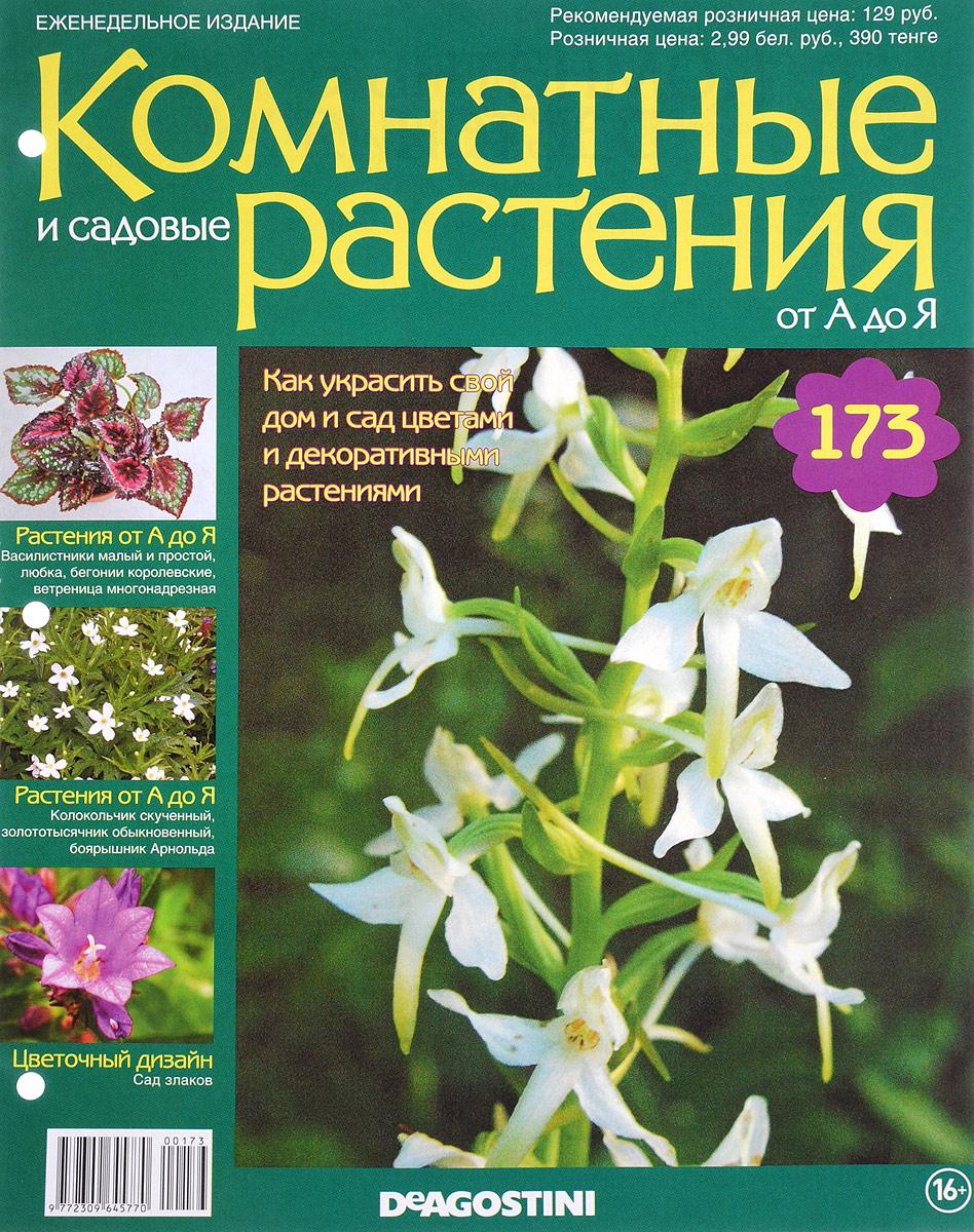 Журнал Комнатные и садовые растения. От А до Я №173 журнал комнатные и садовые растения от а до я 138