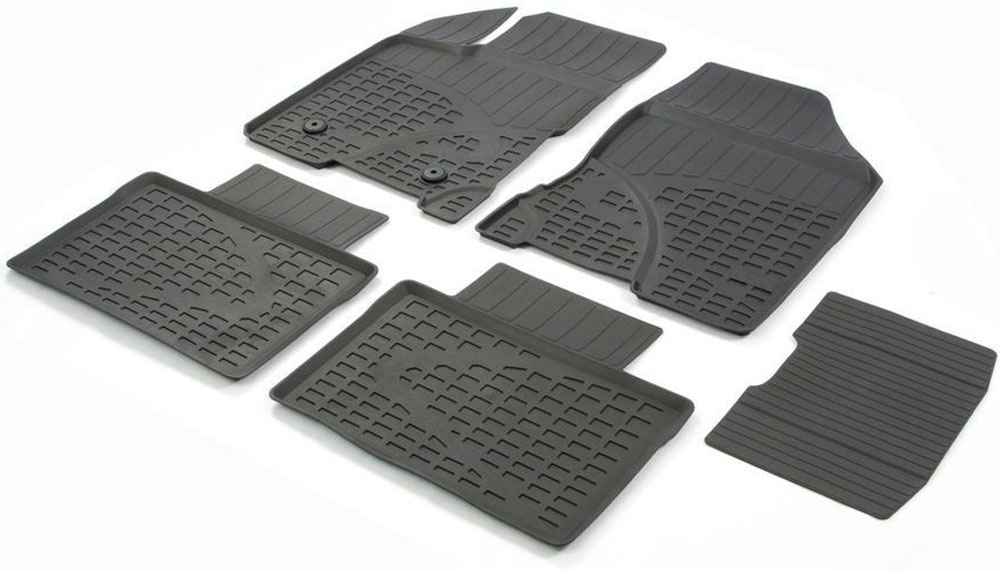 Коврики салона Rival, для Lada Vesta (SD) 2015->, с перемычкой, 5 шт66002002Современная версия ковриков Rival для автомобилей изготовлены из высококачественного и экологичного сырья с использованием технологии высокоточного литься под давлением, полностью повторяют геометрию салона вашего автомобиля.- Усиленная зона подпятника под педалями защищает наиболее подверженную истиранию область.- Надежная система крепления, позволяющая закрепить коврик на штатные элементы фиксации, в результате чего отсутствует эффект скольжения по салону автомобиля.- Высокая стойкость поверхности к стиранию.- Специальный рисунок и высокий борт, препятствующие распространению грязи и жидкости по поверхности коврика.- Произведены из первичных материалов, в результате чего отсутствует неприятный запах в салоне автомобиля.- Перемычка задних ковриков в комплекте предотвращает загрязнение тоннеля карданного вала.- Высокая эластичность, можно беспрепятственно эксплуатировать при температуре от -45°C до +45°С. Уважаемые клиенты!Обращаем ваше внимание, что коврики имеет форму соответствующую модели данного автомобиля. Фото служит для визуального восприятия товара.
