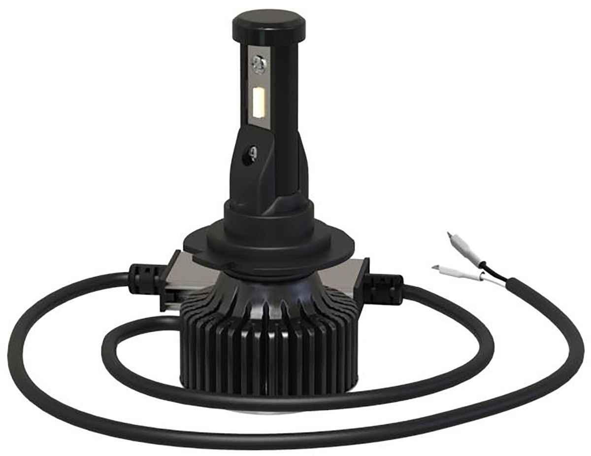 Лампа автомобильная светодиодная Clearlight Laser Vision, цоколь H4, 4300 Лм, 2 штCLLVLEDH4Светодиодные автомобильные лампы Clearlight Laser Vision предназначены для установки в фары ближнего, дальнего и противотуманного света. Инновационная система охлаждения гарантирует надежность и безопасность работы лампы при ее эксплуатации, а также значительно облегчает установку лампы. В лампах Clearlight Laser Vision используются сверхмощные и надежные светодиоды Epistar с высокой светоотдачей, непревзойденной надежностью и безупречным ярким светом, сравнимым с ксеноном. Коллекция Clearlight Laser Vision немецкое качество в доступном исполнении.Новую серию светодиодных ламп Clearlight Laser Vision отличает:- универсальность,- компактность,- алюминиевый радиатор охлаждения,- выносной блок драйвера,- гарантия бесперебойной работы,- долговечность,- точная фокусировка,- интенсивное и равномерное свечение,- пониженое энергопотребление (14 Вт),- водонепронецаемость (IP66),- яркость (4300 lm),- срок службы более 30000 часов.