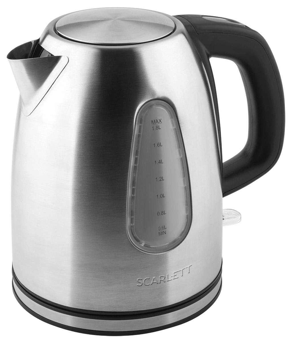 Scarlett SC-EK21S47, Stainless Steel электрический чайник электрический чайник scarlett sc ek18p15