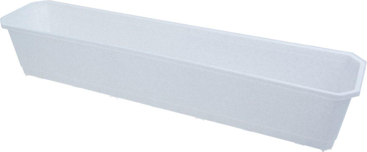 "Ящик балконный ""InGreen"", цвет: мраморный, 80 х 17 х 15 см. ING1803МР"