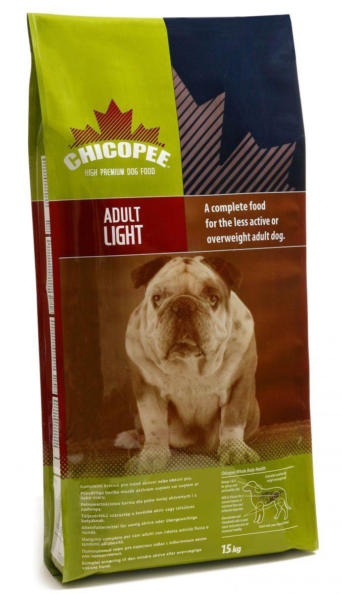 Корм сухой Chicopee для взрослых собак с избыточным весом или малоактивных, с курицей, 15 кг590415Сухой корм Chicopee - полноценное питание для взрослых собак с правильным соотношение белков и жиров для собак со сниженной активностью и для собак с избыточным весом.Chicopee – это великолепное питание для собак, у которых наблюдаются избыточный вес. Добавки незаменимых жирных кислот Омега 3 и Омега 6 обеспечивают блестящую шерсть, ясные глаза и здоровую кожу вашей собаки. Глюкозамин и хондроитин помогают в восстановлении суставов и защите суставов от разрушения. Естественные свойства добавок МОС (маннаноолигосахаридов) и цикория улучшают пищеварение и иммунную систему собаки, подавляя вредоносные бактерии. Корм Chicopee обладает уникальным вкусом, который сразу и навсегда понравится вашей собаке и поможет справиться со склонностью к набору избыточного веса!Ингредиенты: пшеница, кукуруза, мясо домашней птицы, пшеничные отруби, пшеничная мука, животный жир, свекловичный жом, семя льна, белковый гидролизат, известняк, натрий, корень цикория, дрожжи, глюкозамин, хондроитина сульфат.Гарантированный состав: сырой протеин 25%, сырой жир 15%, сырая клетчатка 2,5%, сырая зола 7%, влажность 8%, кальций 1,25%, фосфор 0,95%, калий 0,60%, натрий 0,35%, магний 0,12%.Добавки на кг: витамин А 15 000 МЕ/кг, витамин Д3 1200 МЕ/кг, витамин Е (альфа токоферола ацетат) 150 МЕ/кг, витамин К 1 мг/кг, витамин В1 12 мг/кг, витамин В2 12 мг/кг, витамин В6 7 мг/кг, витамин В12 100 мкг/кг, биотин 500 мкг/кг, пантотеновая кислота 30 мг/кг, никотиновая кислота 50 мг/кг, фолиевая кислота 3 мг/кг, витамин С 70 мг/кг, хлорид холина 2 мг/кг.Товар сертифицирован.