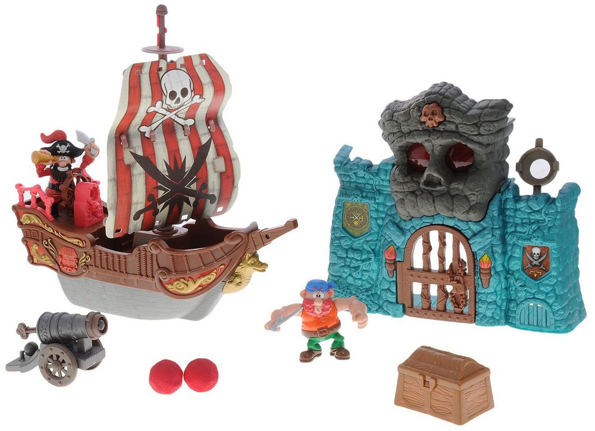 Keenway Игровой набор Пиратские приключения 10774 keenway keenway игровой набор дом моей мечты