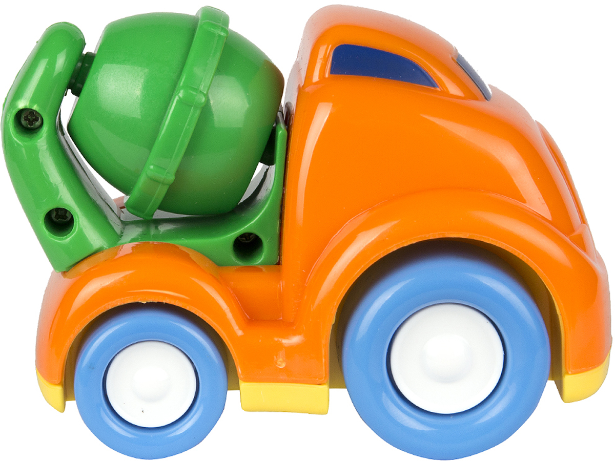 Keenway Машинка Mini Vehicles цвет оранжевый машинки keenway самосвал