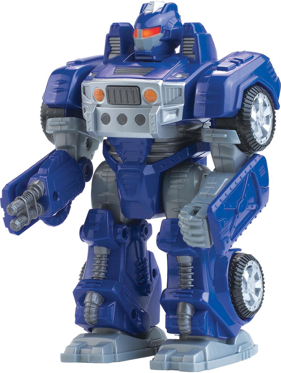Happy Kid Робот-трансформер цвет синий happy kid робот трансформер с 3 лет