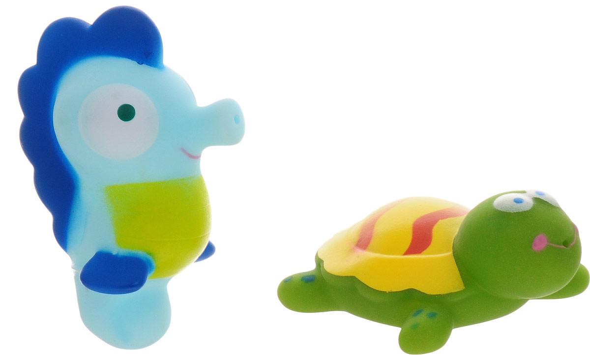 AВtoys Игрушка-брызгалка Черепаха и морской конек игрушки для ванны hap p kid игрушка для купания брызгалка пингвиненок