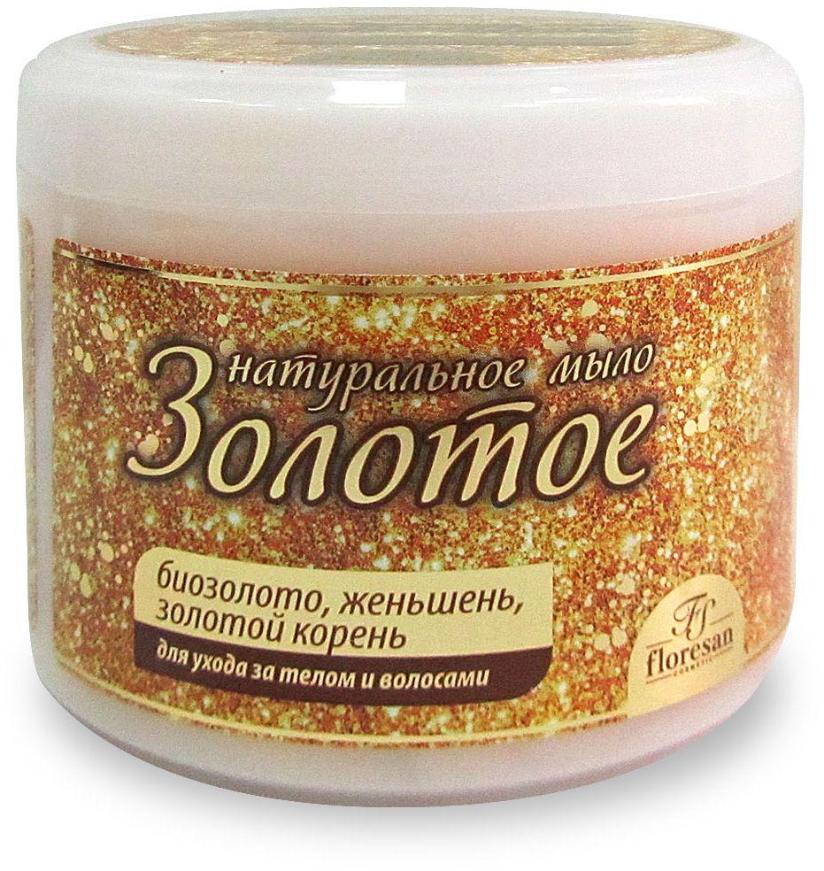 Floresan Натуральное мыло для ухода за телом и волосами Золотое, 450 мл66-Ф-0-77Floresan Натуральное мыло для ухода за телом и волосами Золотое 450 мл позаботится о молодости вашей кожи. Мыло бережно и нежно очищает кожу, сообщая клеткам энергию и улучшая обменные процессы. Клетки при этом начинают работать на омоложение, и ваша кожа обновляется. Процесс обновления клеток ускоряется еще и потому, что золото способствует усилению циркуляции крови и току лимфы, удаляет из кожи шлаки и токсины. Кожа становится нежной и гладкой, а волосы шелковистыми. Изысканный дизайнерский аромат оставит на вашем теле тонкий запах духов. Испытайте наслаждение, которое дарит Вам Золотое мыло.