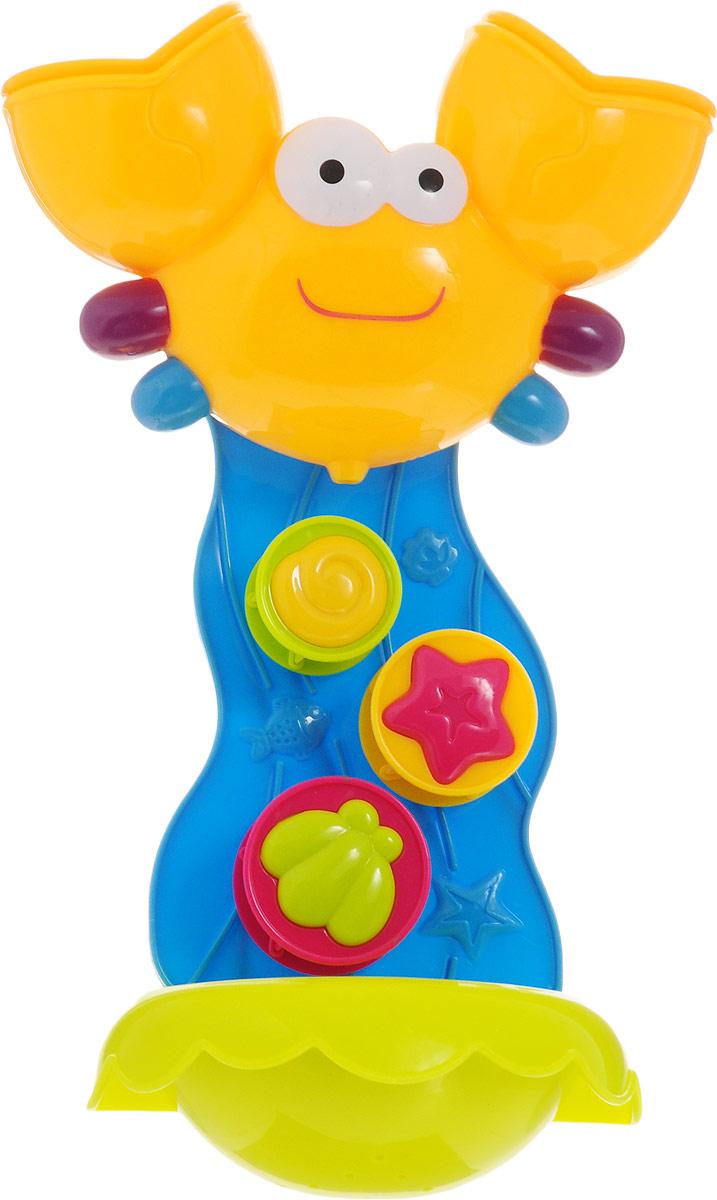 ABtoys Игрушка для ванной Крабик игрушки для ванны hap p kid игрушка для ванной со световым эффектом крабик