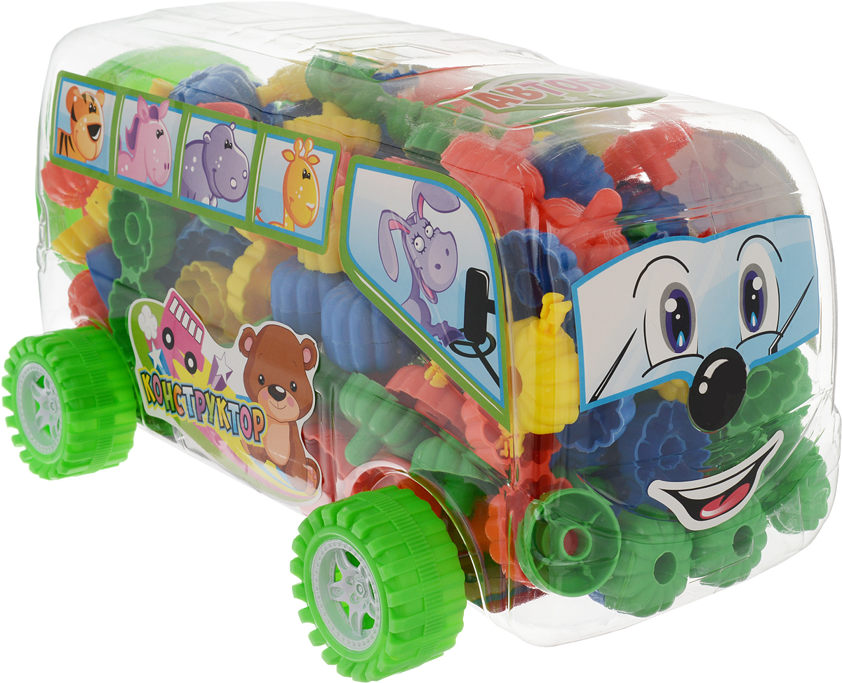 Склад уникальных товаров Конструктор Автобус XL
