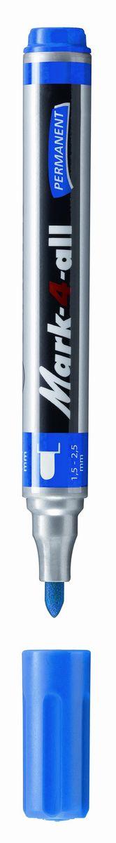 Stabilo Маркер перманентный цвет синий1088356Заправляемый маркер с несмываемыми чернилами.Круглый наконечник позволяет проводить линии толщиной от 1,5 до 2,5 мм.Подходит для рисования и маркировки практически на любых поверхностях. Надписи мгновенно высыхают и не размазываются.Высокая морозостойкость, светостойкость и влагостойкость чернил. Чернила на спиртовой основе обладают нейтральным запахом.