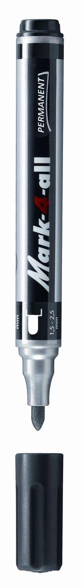 Stabilo Маркер перманентный черный651/46BЗаправляемый маркер с несмываемыми чернилами.Круглый наконечник позволяет проводить линии толщиной от 1,5 до 2,5 мм.Подходит для рисования и маркировки практически на любых поверхностях. Надписи мгновенно высыхают и не размазываются.Высокая морозостойкость, светостойкость и влагостойкость чернил. Чернила на спиртовой основе обладают нейтральным запахом.
